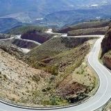 Picture - ShootOutside Film/Photo Location Scout Service Spain Andalusia - Curvy Mountain Road