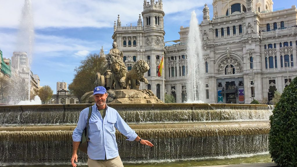 Picture - ShootOutside Film/Photo Production Services Spain Madrid - Fountain