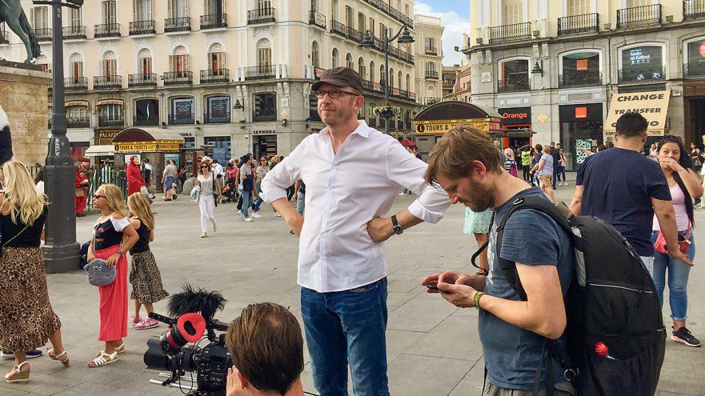 Picture - ShootOutside Film/Photo Fixer Services Spain Madrid RENFE ZDF - Crew