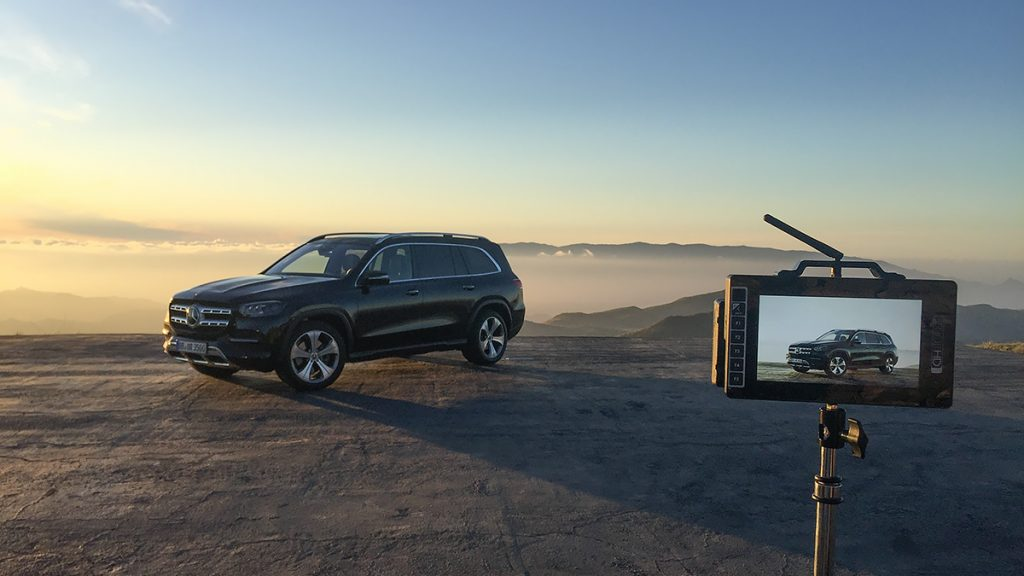 Picture - ShootOutside Studio One Film/Photo Car Platform Spain Andalusia - 2020 Mercedes Benz GLS